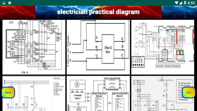 electrician practical diagram screenshot 14