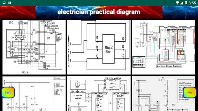 electrician practical diagram screenshot 22