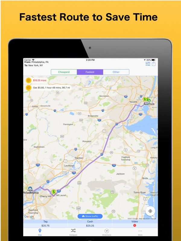 Toll calculator gps navigation on the app store.