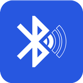 Bluetooth audio device widget: connect, play music ikona