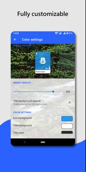 Bluetooth audio device widget: connect, play music screenshot 2