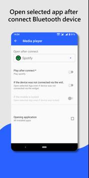 Bluetooth audio device widget: connect, play music screenshot 3