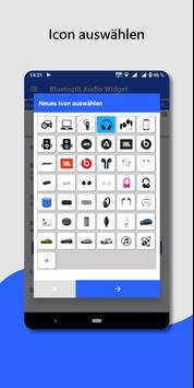 Bluetooth Audio Gerät Widget-verbinden, Lautstärke Screenshot 5