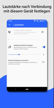 Bluetooth Audio Gerät Widget-verbinden, Lautstärke Screenshot 4