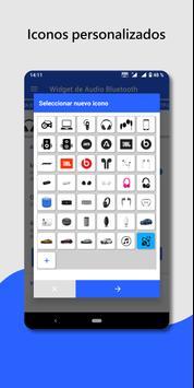 Widget de dispositivo de audio Bluetooth: conectar captura de pantalla 5