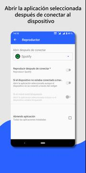 Widget de dispositivo de audio Bluetooth: conectar captura de pantalla 3
