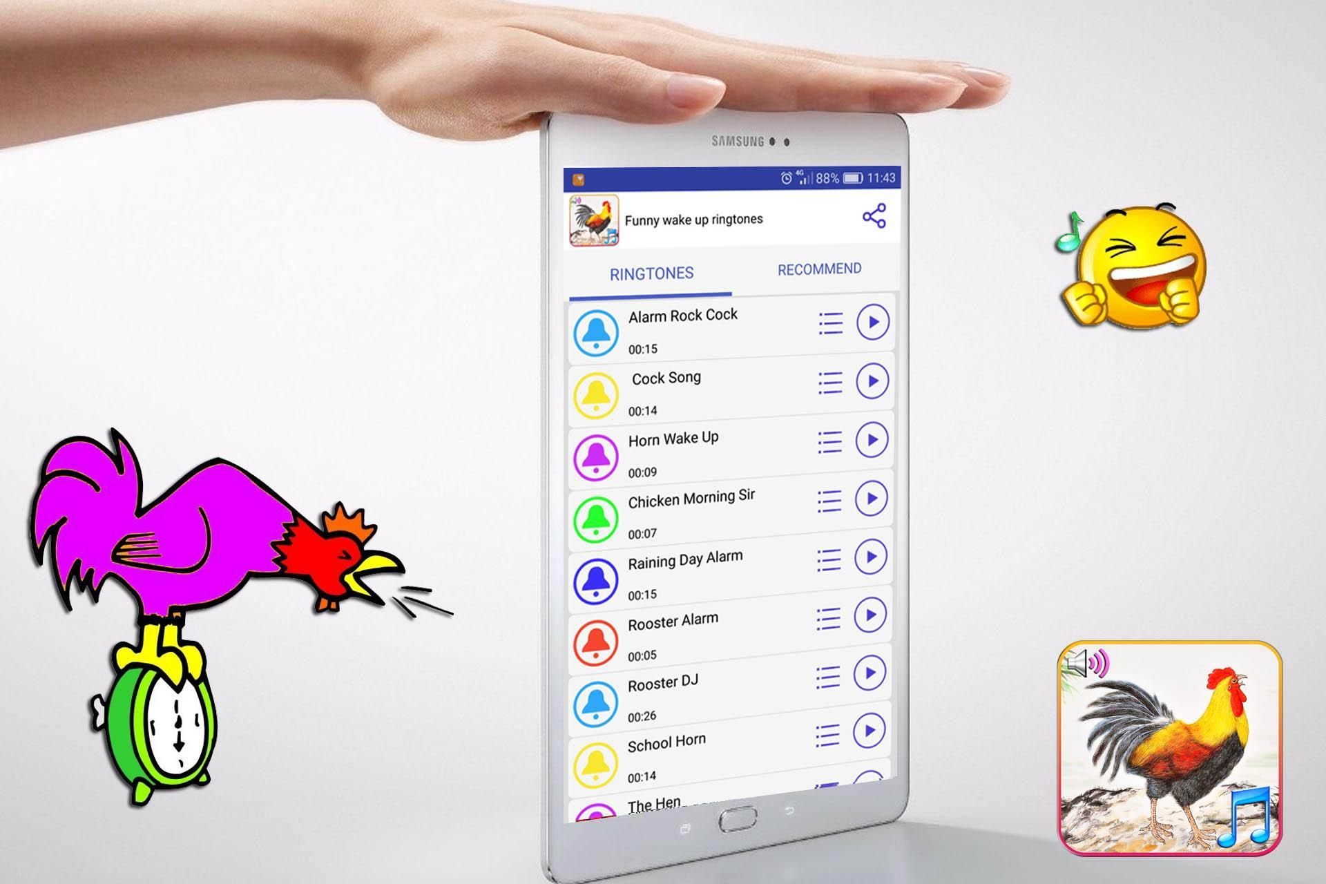 Funny Wake Up Ringtones for Android - APK Download