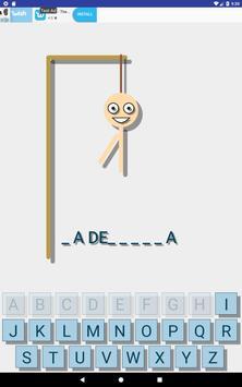 Hangman Multilingual - Learn new languages screenshot 7