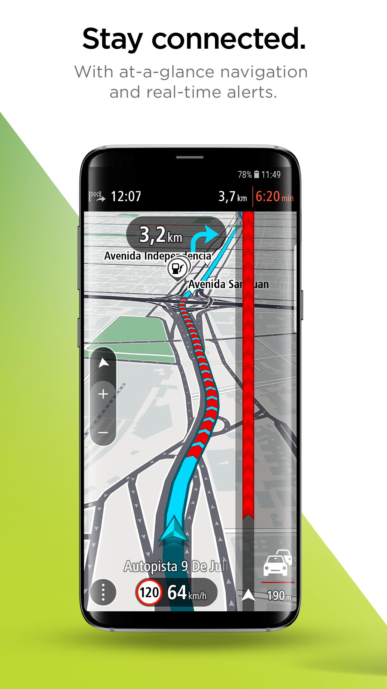 tomtom india maps free download for android