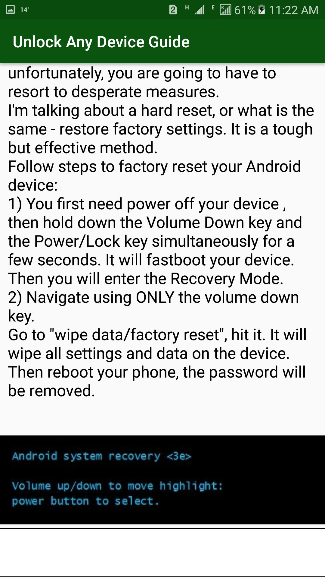 Unlock any device Techniques 2019 for Android - APK Download