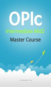 OPIc IM2 Master Course poster