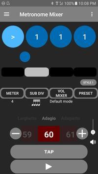 Metronome Mixer poster