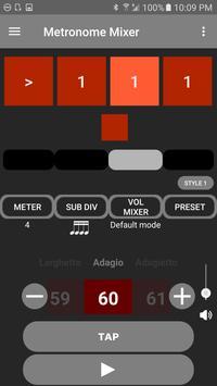 Metronome Mixer screenshot 1