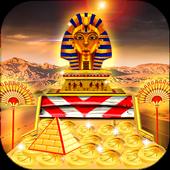 Gold of King Pharaoh Egypt - Coin Party Dozer icon