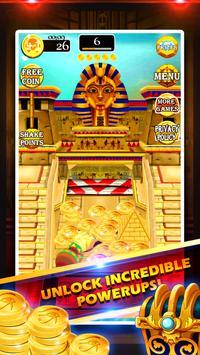 Gold of King Pharaoh Egypt - Coin Party Dozer poster