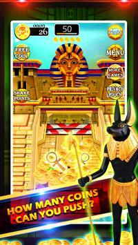 Gold of King Pharaoh Egypt - Coin Party Dozer screenshot 2