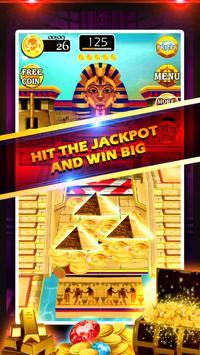 Gold of King Pharaoh Egypt - Coin Party Dozer screenshot 3