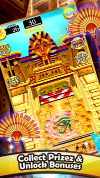 Gold of Queen Cleopatra Egypt - Coin Party Dozer screenshot 3