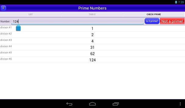Prime Numbers screenshot 8