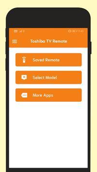 Remote For Toshiba TV screenshot 1