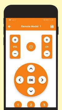Remote For Toshiba TV screenshot 3