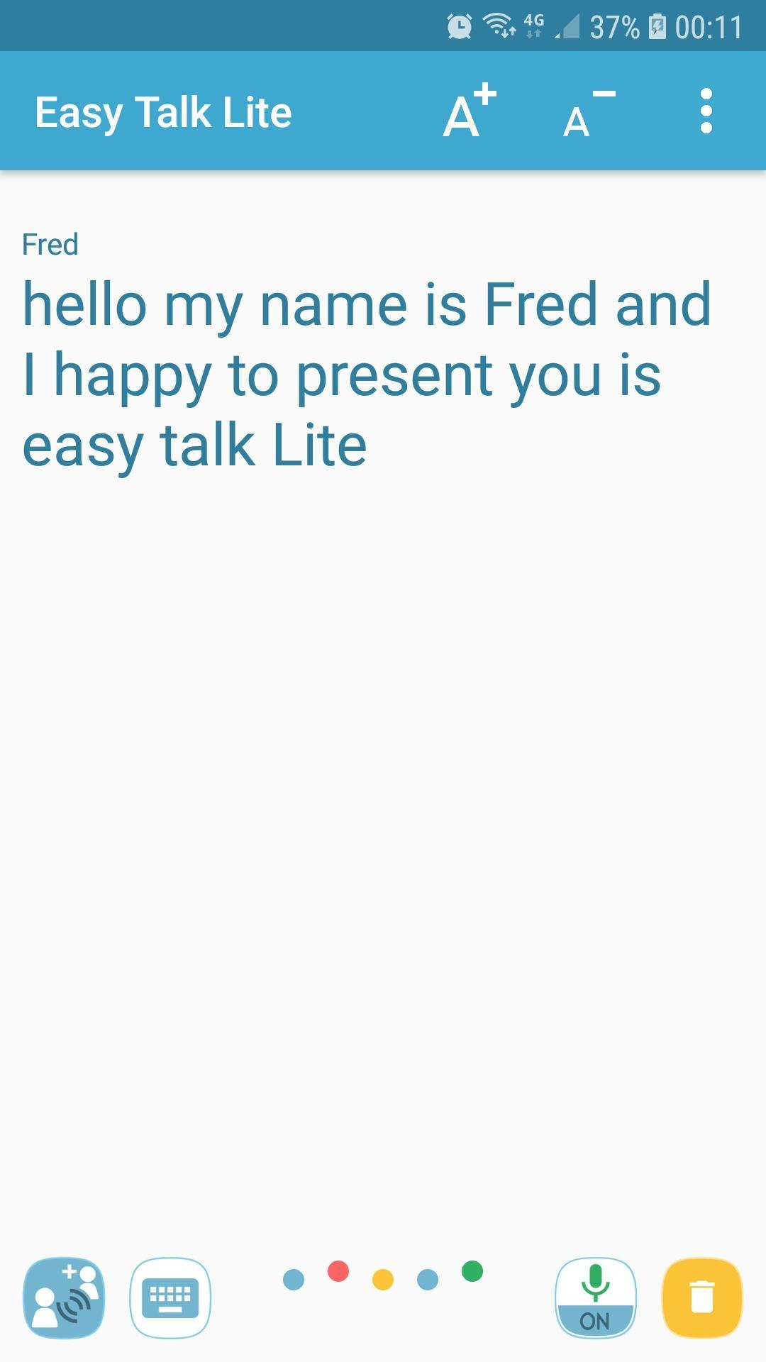 Easy Talk Lite for Android - APK Download