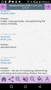 Glossary of Islamic Terminology - Meaning of Words screenshot 3