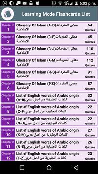 Glossary of Islamic Terminology - Meaning of Words poster