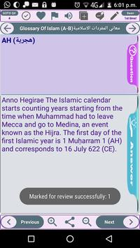 Glossary of Islamic Terminology - Meaning of Words screenshot 1