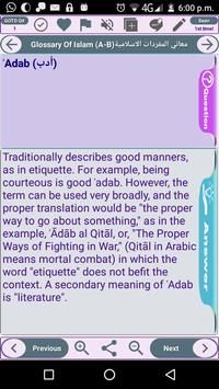 Glossary of Islamic Terminology - Meaning of Words screenshot 6