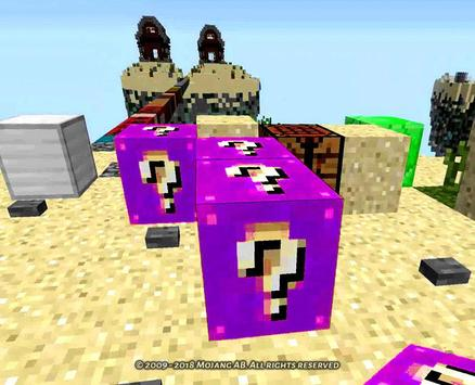 Lucky Blocks in Minecraft Mod screenshot 1