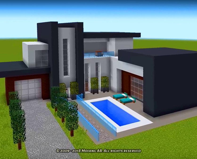 как построить модерн дома в майнкрафте 1.7.2 видео #3