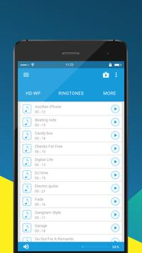 Optimal pop music ringtones screenshot 4