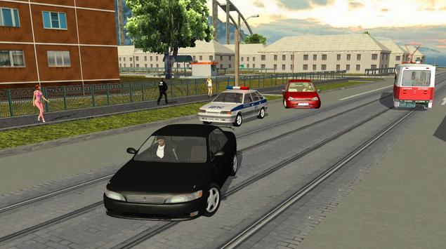 Criminal Russia 3D. Gangsta way-poster