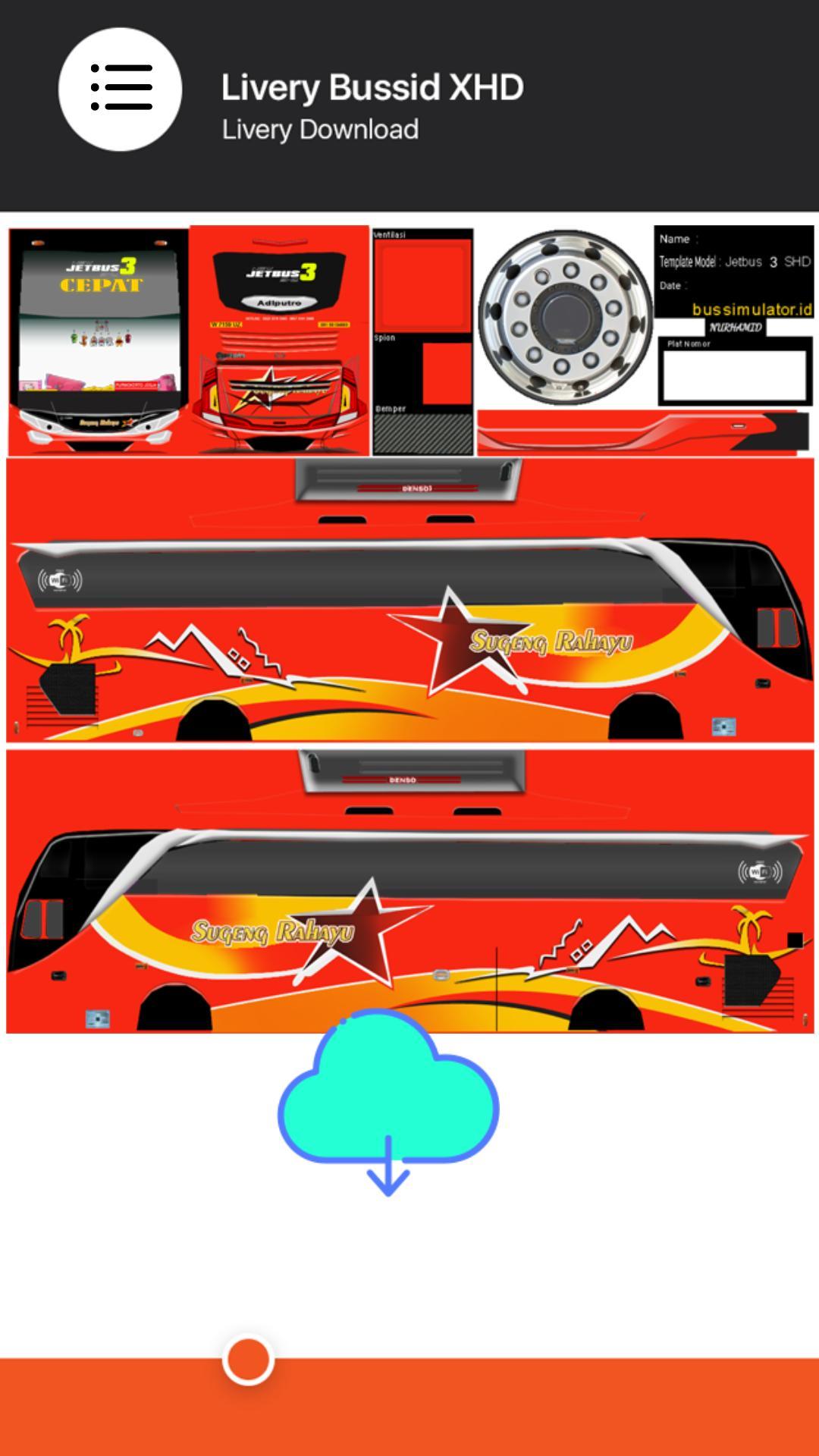 Livery Bussid Shd Bus Sumatera Infotiket Com