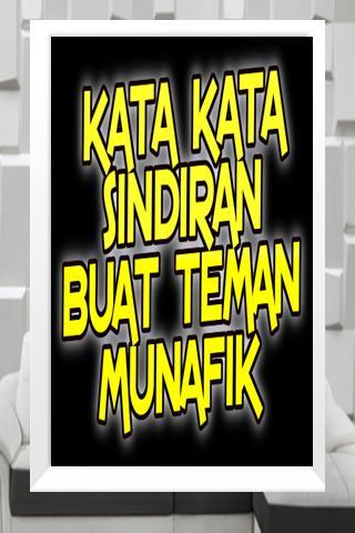 Kata Kata Sindiran Buat Teman Munafik For Android Apk Download