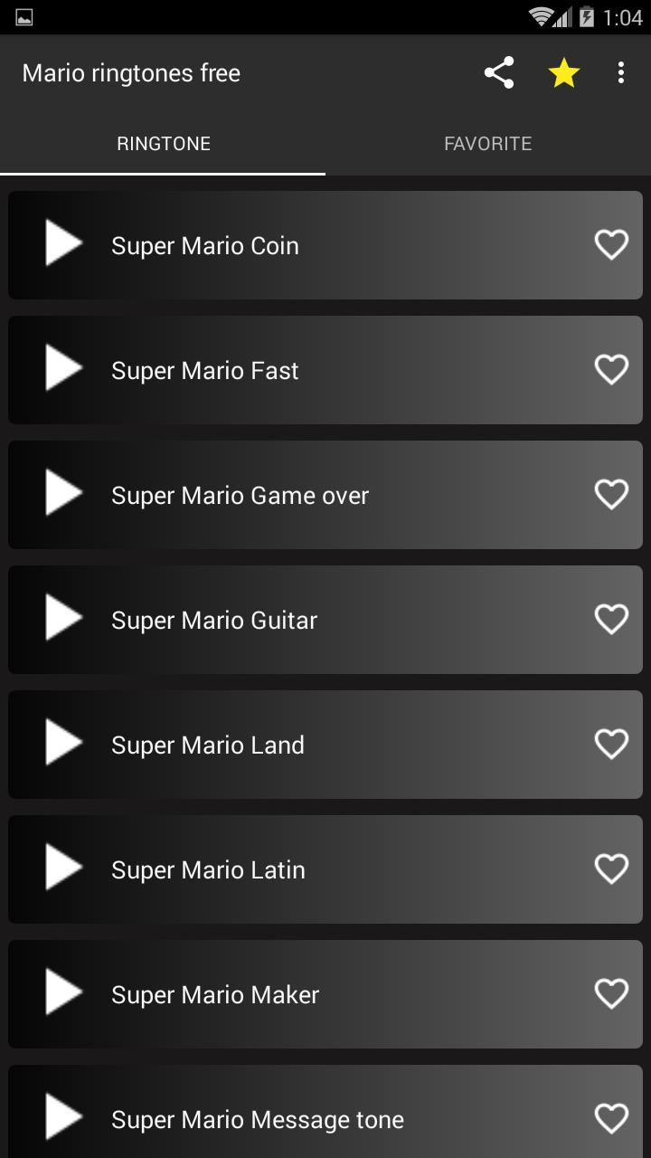 Mario ringtones free for Android - APK Download