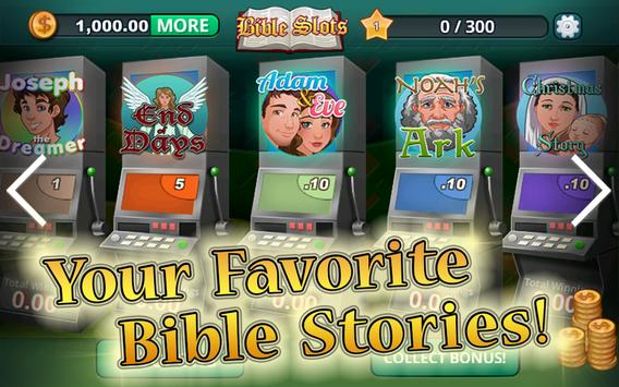 BIBLE SLOTS! Free Slot Machines with Bible themes! poster