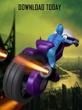 Alien Space Bike Racing screenshot 4