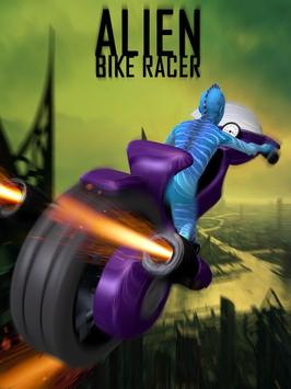Alien Space Bike Racing poster