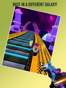 Alien Space Bike Racing screenshot 2