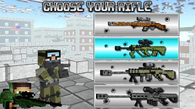 American Block Sniper Survival Cartaz