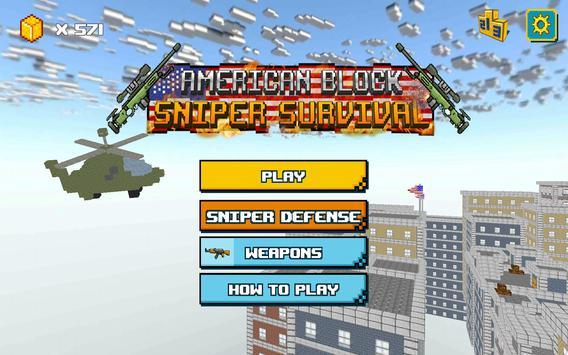 American Block Sniper Survival screenshot 16