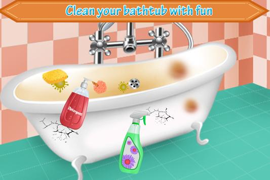 Bathroom Cleaning-Toilet Games screenshot 6
