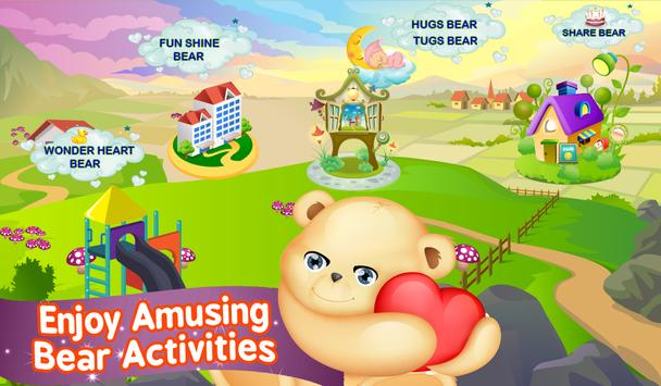 Baby Bear Daily Activities poster