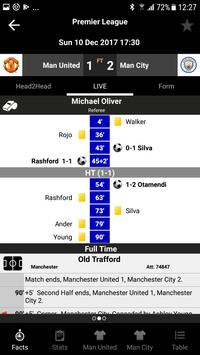 TLS Soccer -- Premier Live Opta Stats 2019/2020 screenshot 1