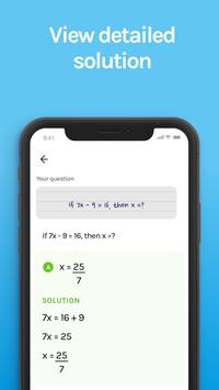 App that helps with homework  