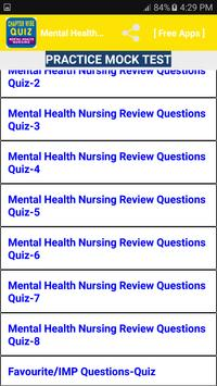 Psychiatric and Mental Health Nursing Quiz for Android - APK Download