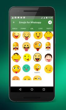 Emojis for whatsapp screenshot 3