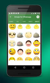 Emojis for whatsapp screenshot 1